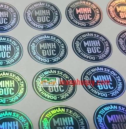 in tem 7 màu giá rẻ nhất ở hcm