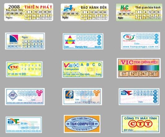 in tem bảo hành tại tphcm