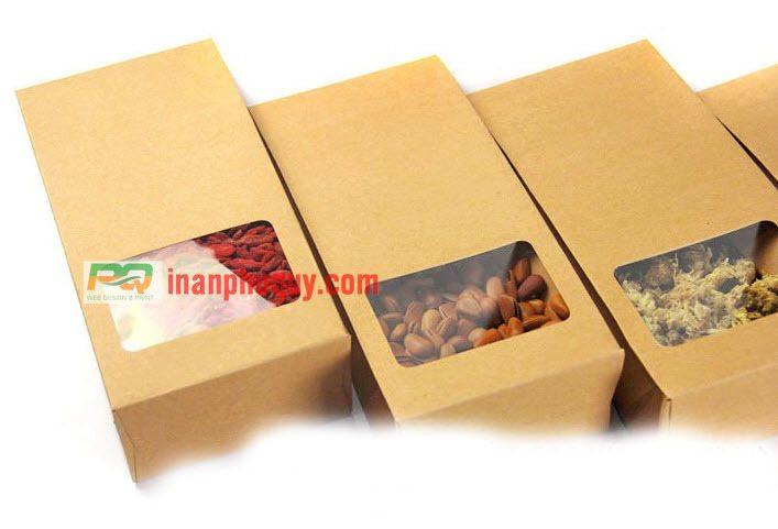 in túi giấy đựng thực phẩm tại tphcm