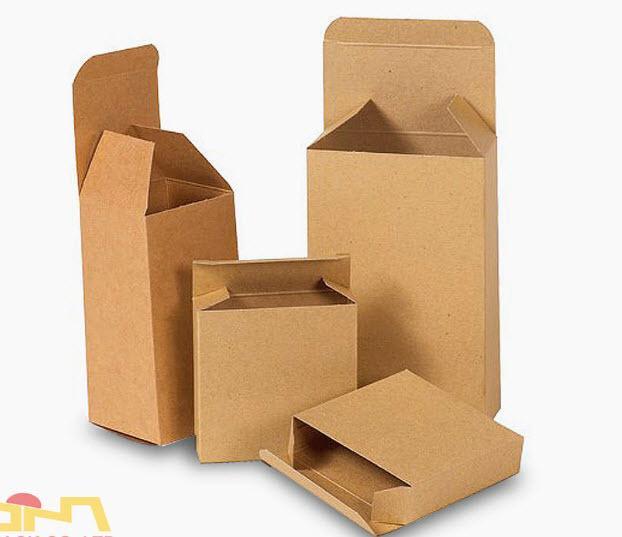 mẫu hộp giấy kraft đẹp